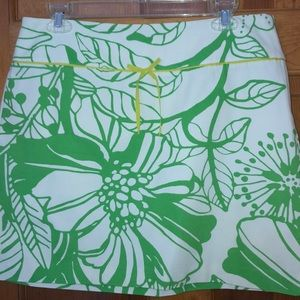 J Crew Tropical Floral Skirt Size 10